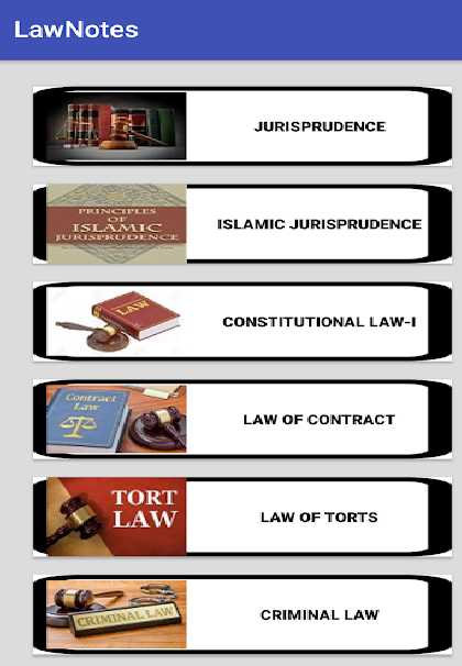 Law Notes (Basics of Law)