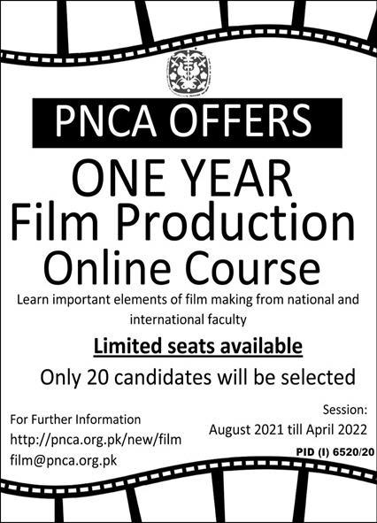 PNCA Offers Admissions June 2021 Latest Advertisement