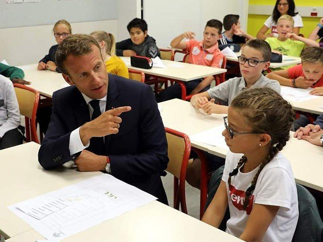 How do you feel after being slapped, the girl asked the French president