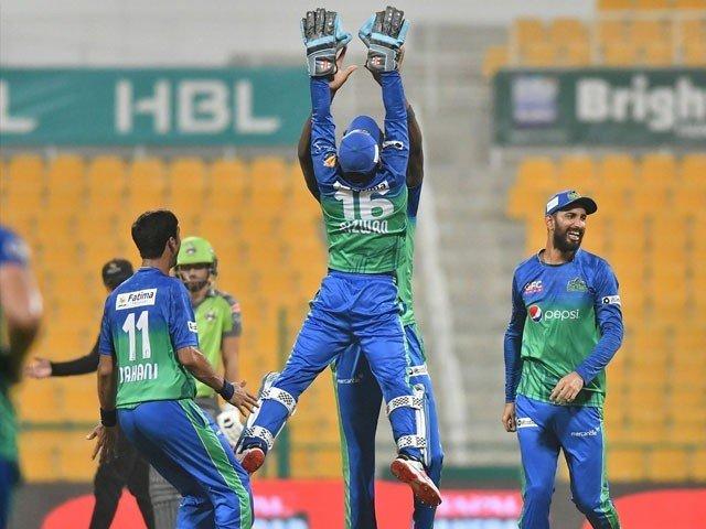 Multan Sultans defeated Lahore Qalandars by 80 runs
