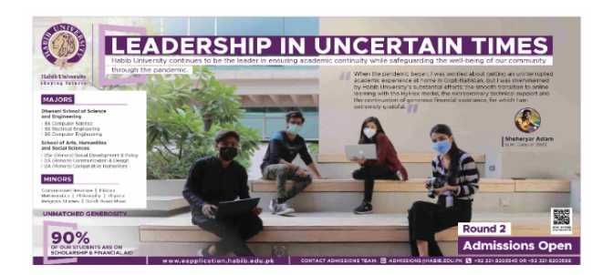 Leadership in Uncertain Times Admissions Open 2021 Latest