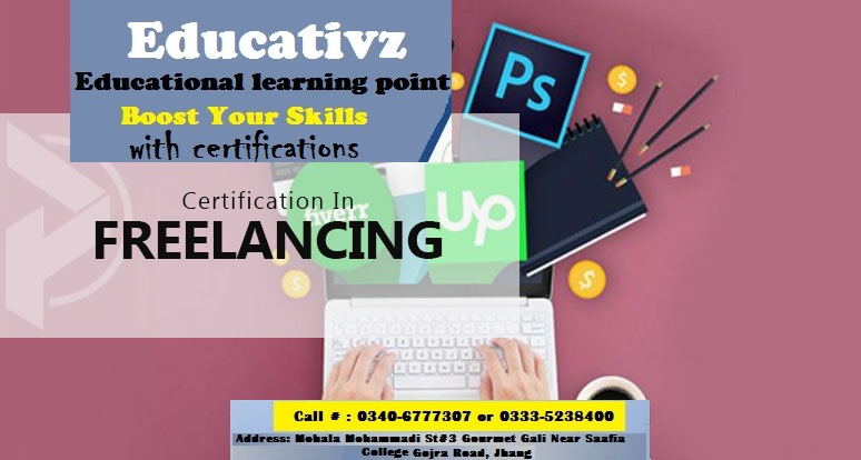 Freelancing Courses in Jhang | Online Earning Freelancer Course